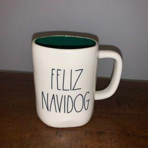 Rae Dunn FELIZ NAVIDOG Christmas Mug